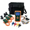 1200A 3-Phase Power Analyzer and Datalogger TES-382100