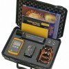 Used Fluke SM MM Optical Fiber Test Kit TES-FTK-200