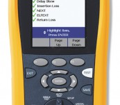 Used Fluke DTX-1200 Digital Cable Analyzer CAT6